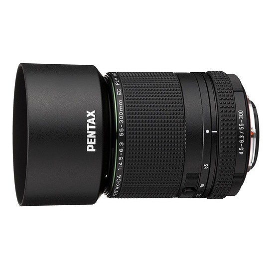 【新品】(ペンタックス) PENTAX HD PENTAX DA 55-300 mm F4.5-6.3 ED PLM WR RE