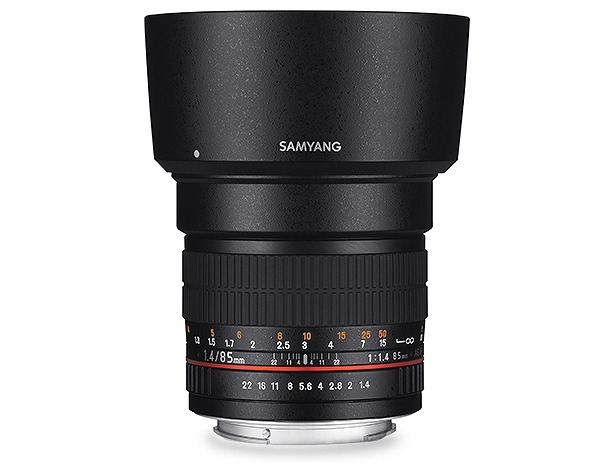 【新品】(サムヤン) SAMYANG 85mmF1.4 ASPHERICAL IF ニコンAE用