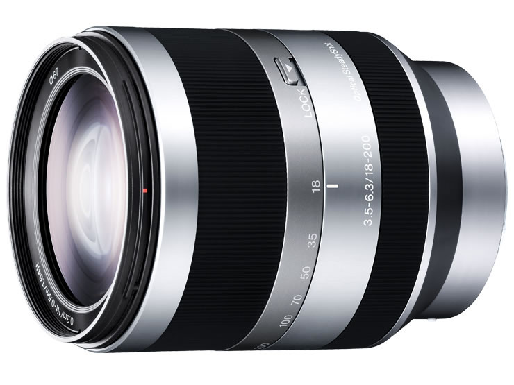 【新品】(ソニー) SONY E18-200mm F3.5-6.3 OSS (SEL18200)