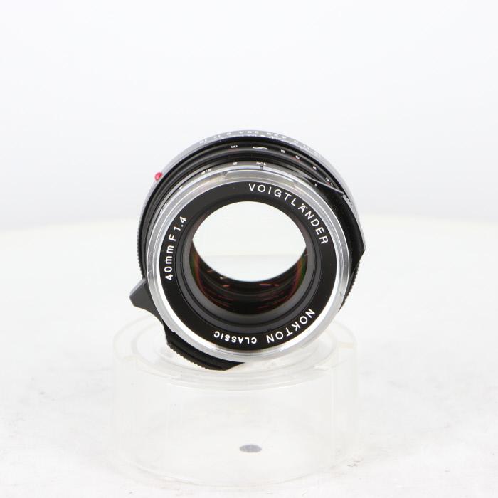 【中古】(フォクトレンダー)ノクトン クラシツク 40/1.4 MC