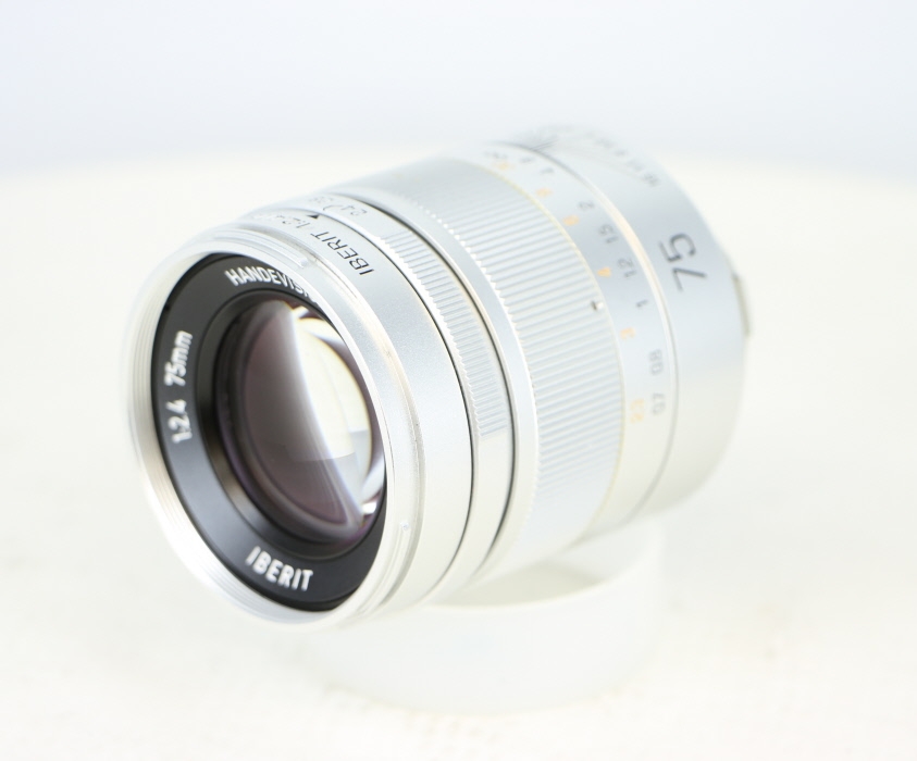 【中古】(キポン) KIPON HANDEVISION IBERIT 75mm F2.4 ライカM