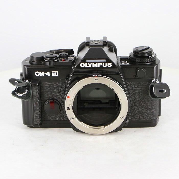 【中古】(オリンパス) OLYMPUS OM-4 Ti ブラック