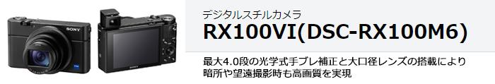 Cyber-shot DSC-RX100M6