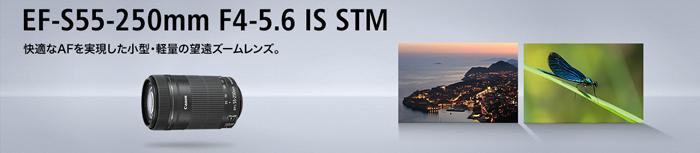 EF-S55-250mm F4-5.6 IS STM